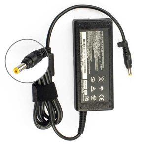 شارژر لپ تاپ اچ پی 18.5 ولت 3.5 آمپر سر زرد