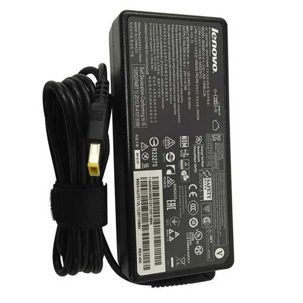 شارژر لپ تاپ لنوو 20 ولت 4.5 آمپر یو اس بی
