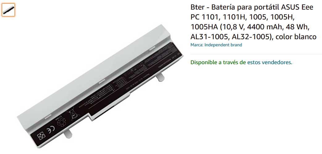 باتری لپ تاپ ایسوس EeePC 1001 1005 AL32-1005