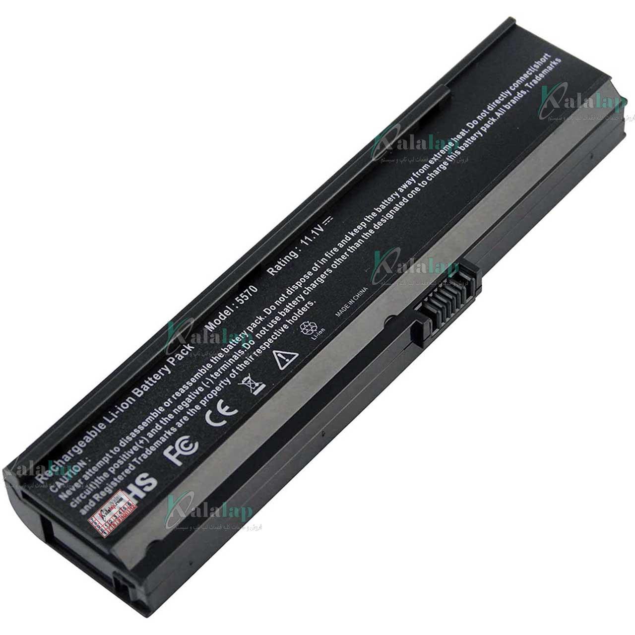 باتری لپ تاپ ایسر 5580