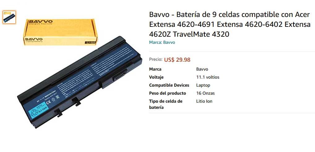 باتری لپ تاپ ایسر AQJ1 ARJ1 2420 5560 9cell