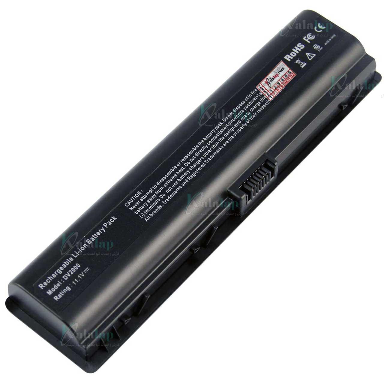 باتری لپ تاپ اچ پی Pavilion DV2000 DV6000