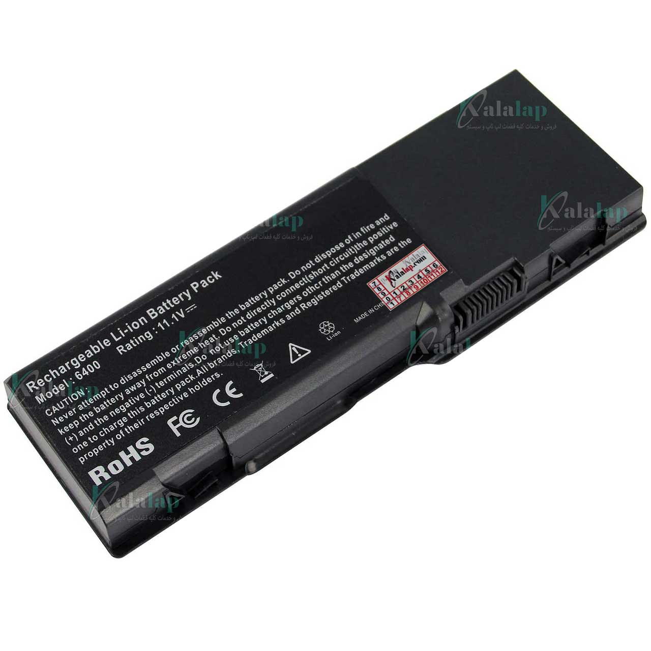 باتری لپ تاپ دل Battery Laptop Dell 6400
