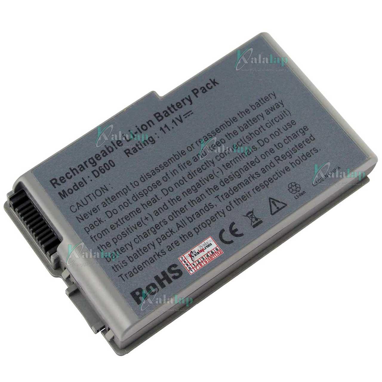 باتری لپ تاپ دل Battery Laptop Dell D600