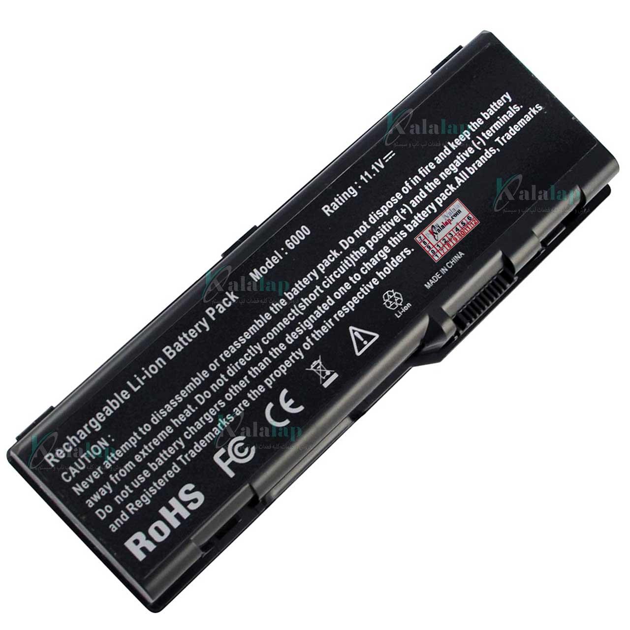 باتری لپ تاپ دل Battery Laptop Dell Inspiron 6000