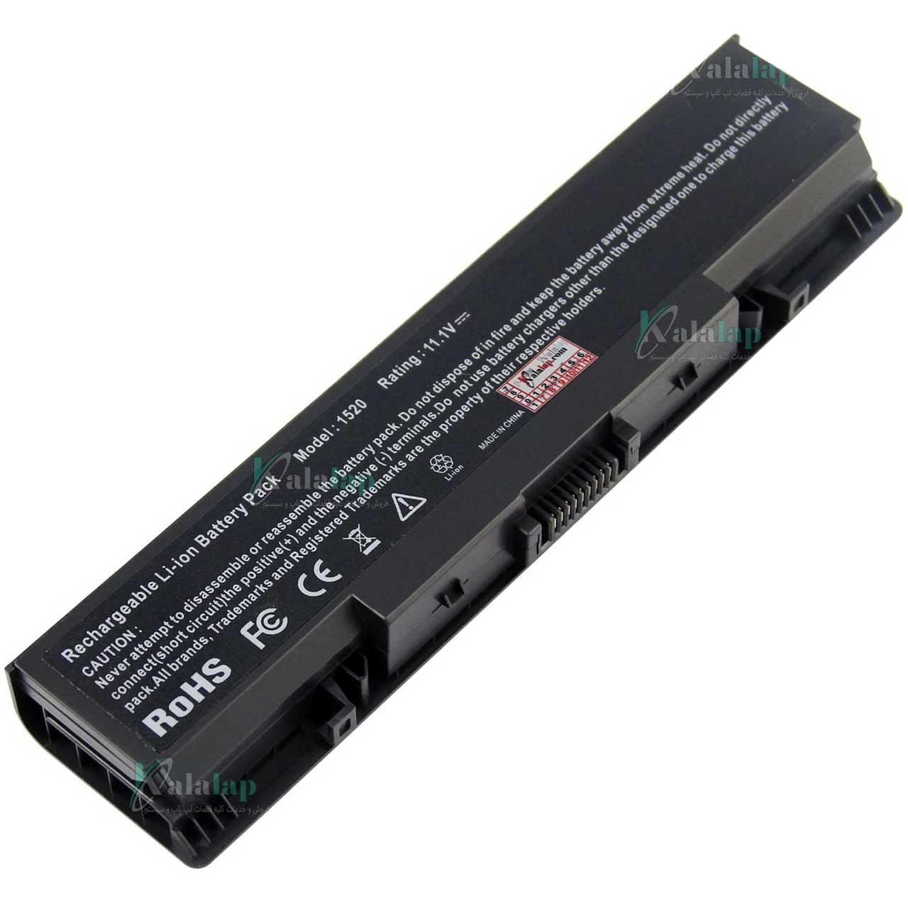 باتری لپ تاپ دل 1520 Battery Dell Inspiron