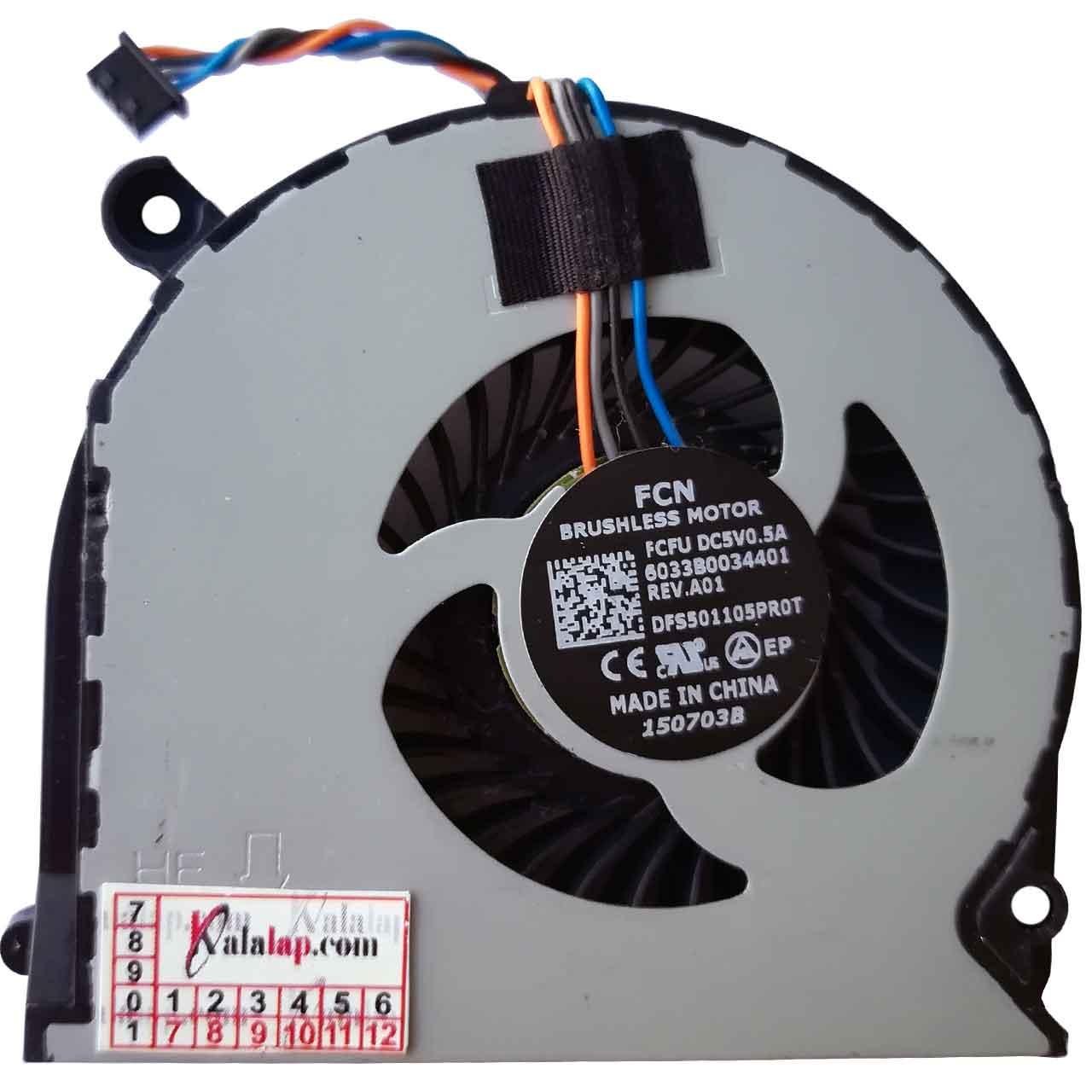 فن لپ تاپ اچ پی FAN HP 650 G1