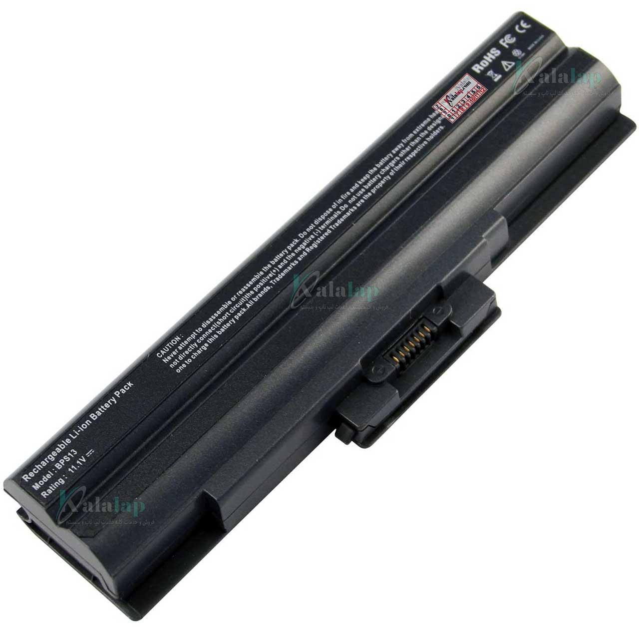 باتری لپ تاپ سونی Sony VGP-BPS21 VGP-BPS13