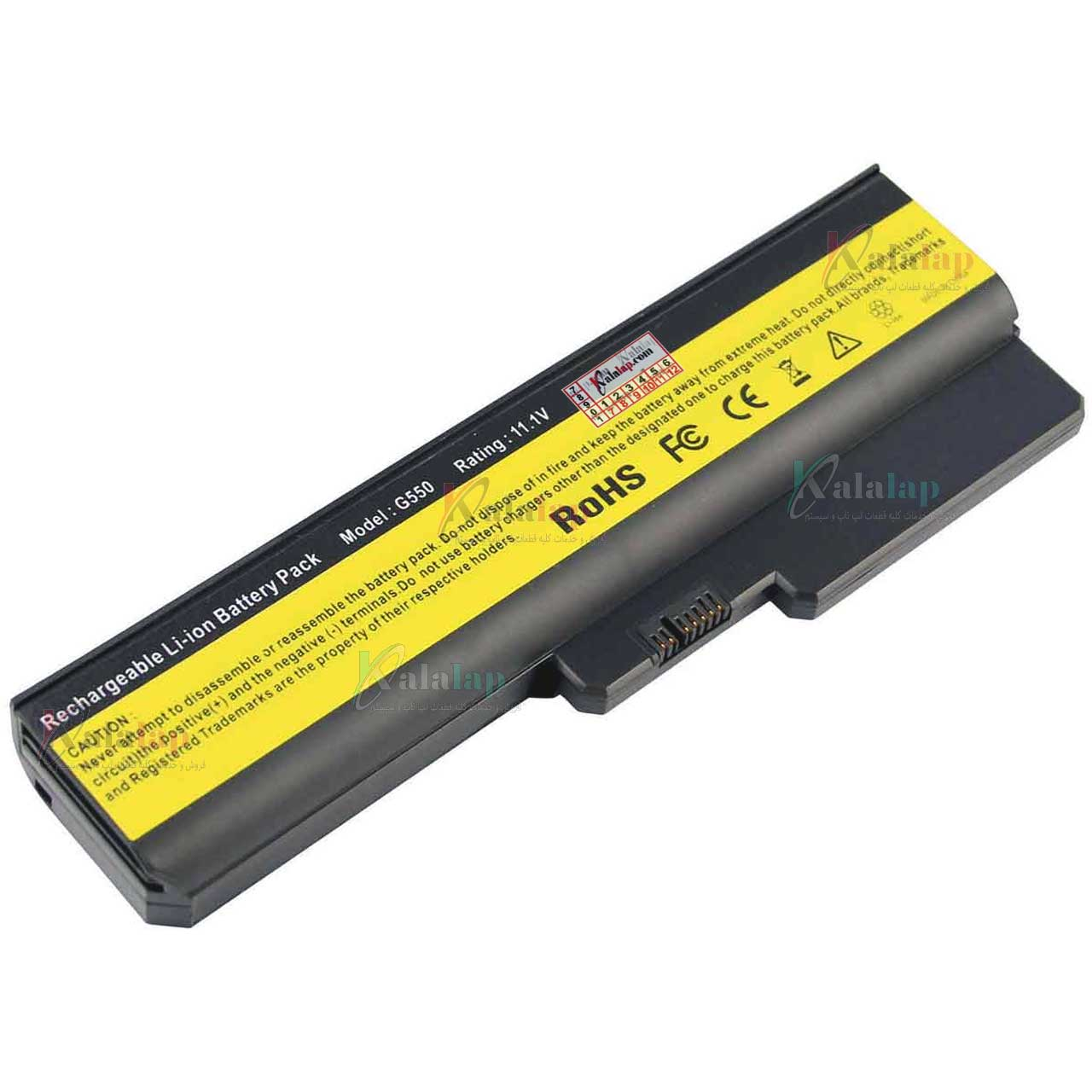 باتری لپ تاپ لنوو Ideapad G530 G550 N500 G430