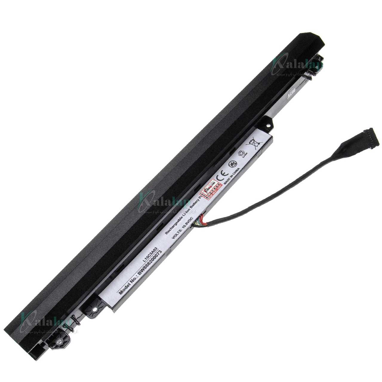 باتری لپ تاپ لنوو Lenovo IdeaPad 110 L15C3A03