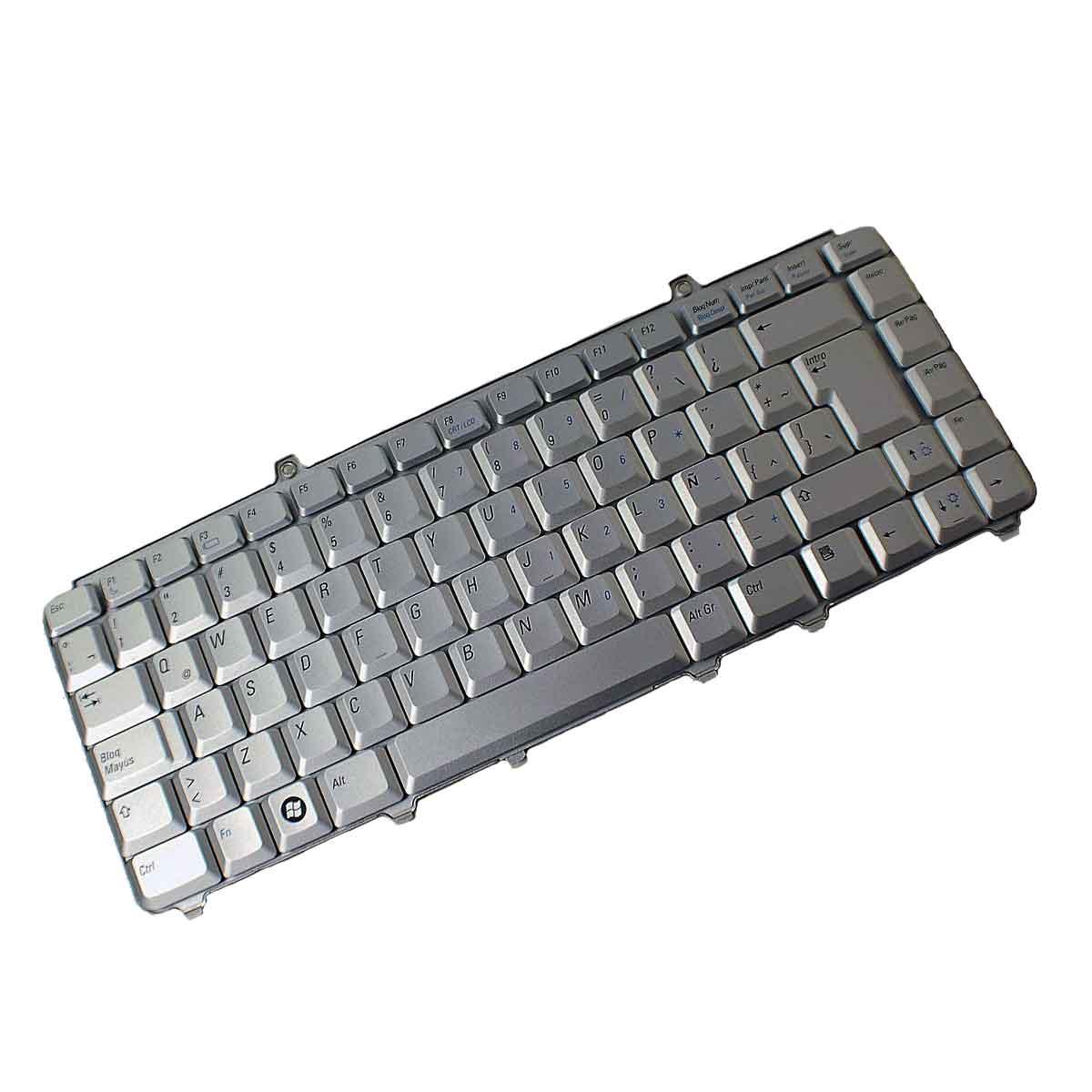 کیبورد لپ تاپ دل Keyboard Laptop DELL 1525 Silver