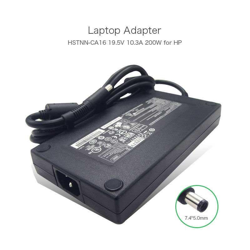 شارژر لپ تاپ اچ پی 19.5 ولت 10.3 آمپر اسلیم
