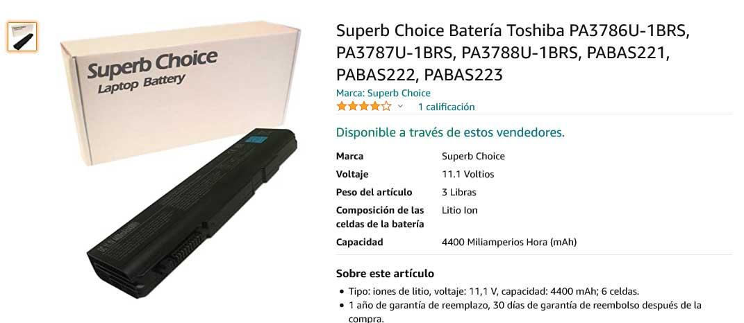 باتری لپ تاپ توشیبا Toshiba PA3788U PA3787U