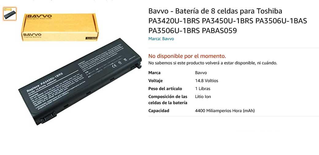 باتری لپ تاپ توشیبا Toshiba PA3420U PA3450U