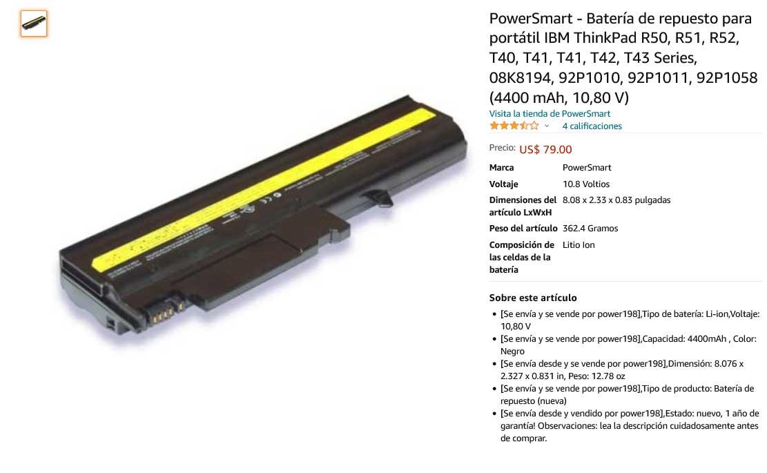 باتری لپ تاپ لنوو Lenovo ThinkPad T40 T43 R50