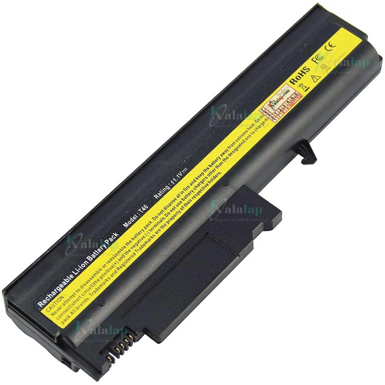 باتری لپ تاپ لنوو Battery Laptop Lenovo ThinkPad T40