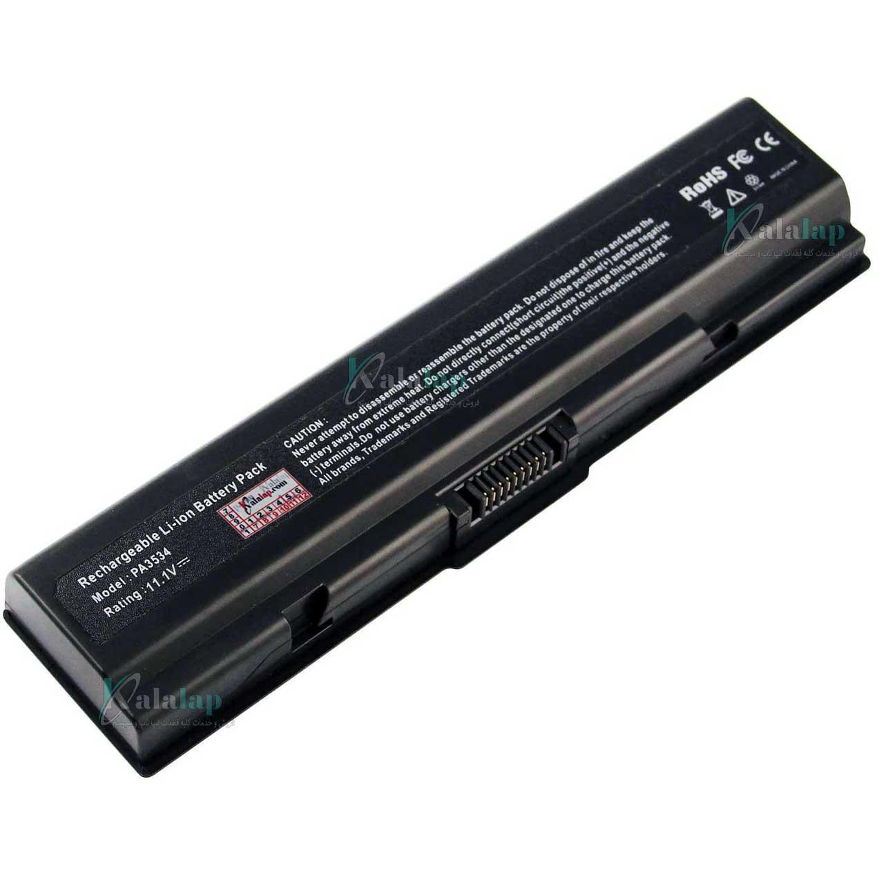 باتری لپ تاپ توشیبا Battery Laptop Toshiba PA3534U