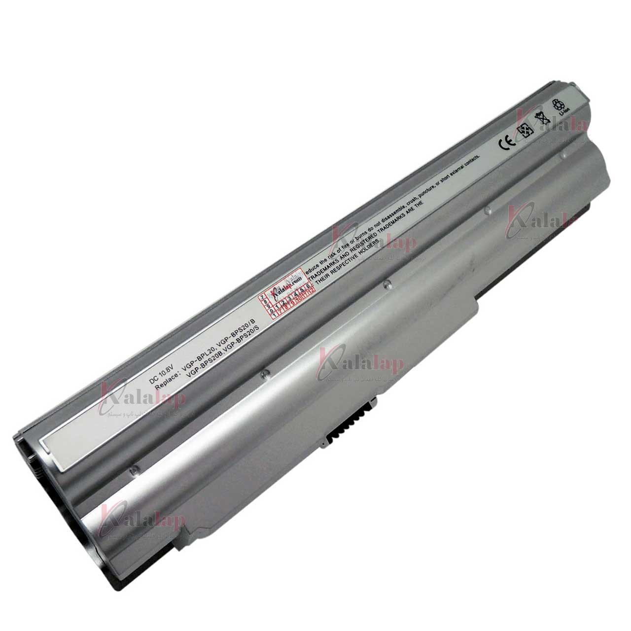 باتری لپتاپ سونی Battery Laptop SONY VGP-BPS20