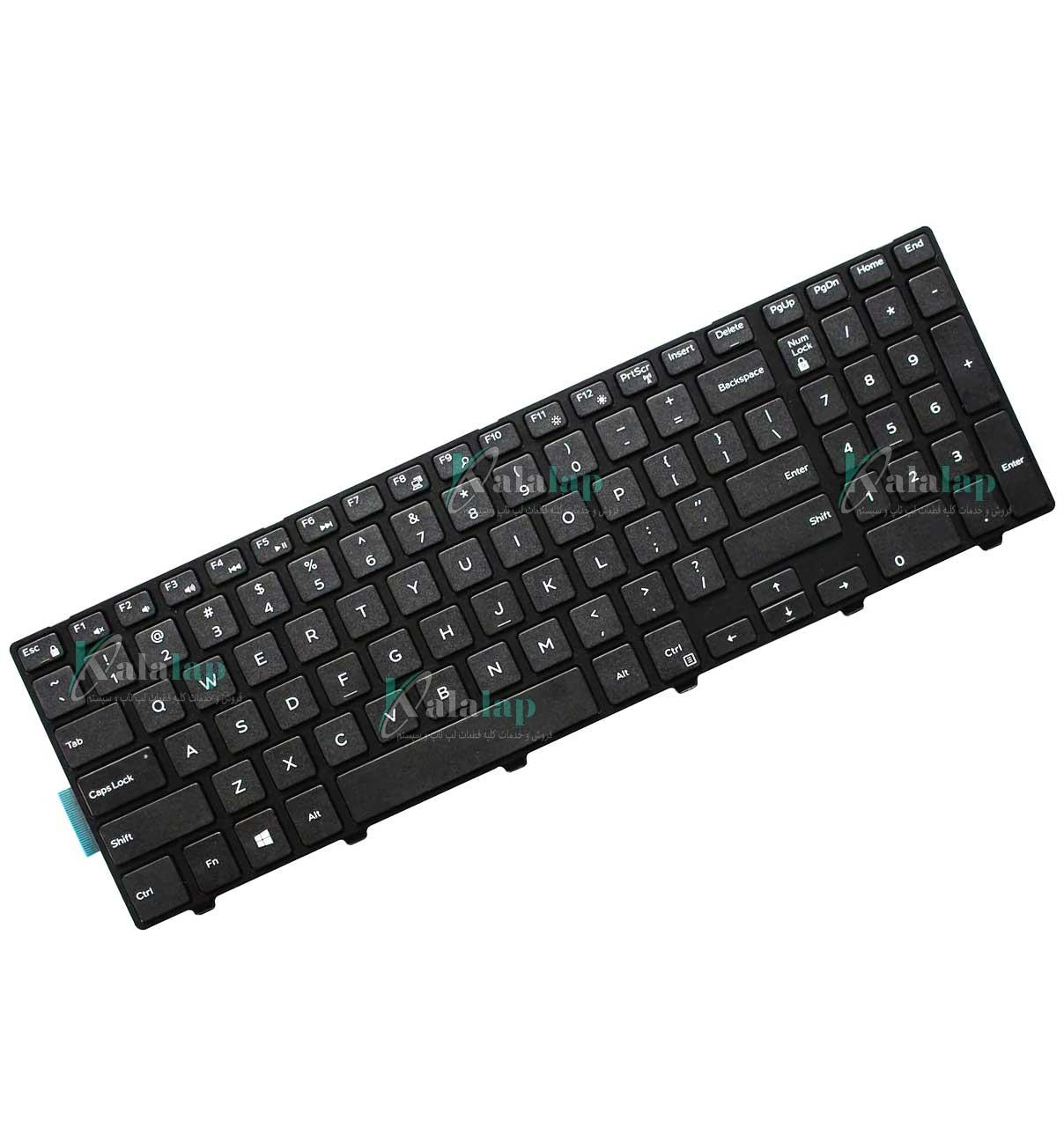 کیبورد لپ تاپ دل Keyboard Inspiron 15 5000