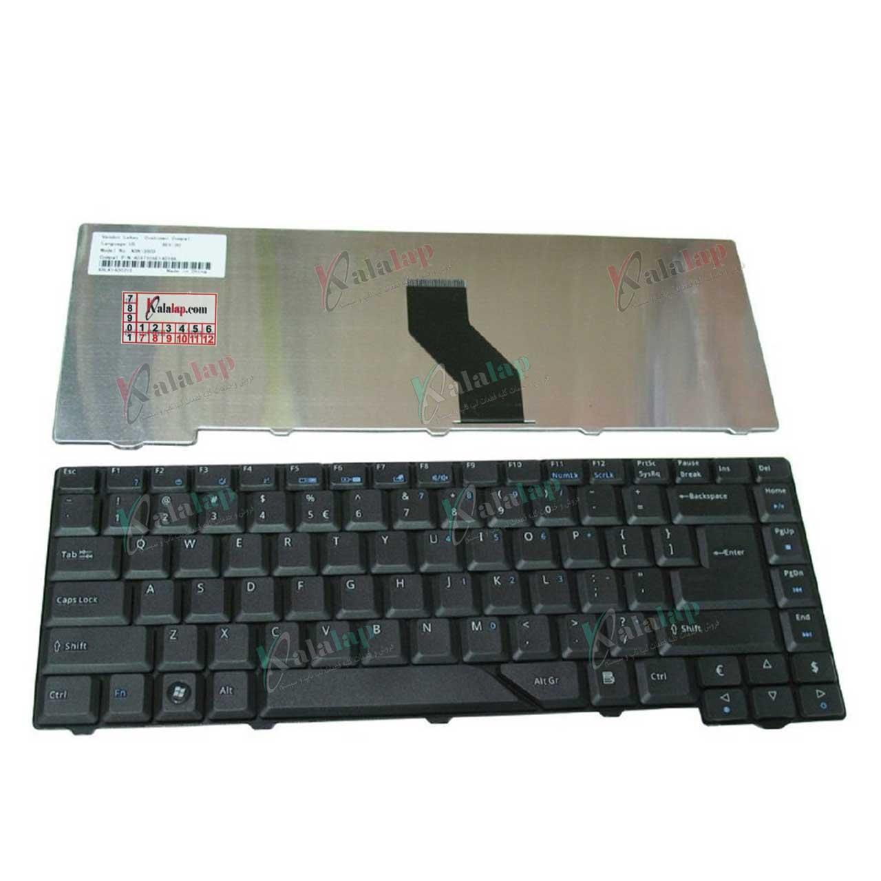 کیبورد لپ تاپ ایسر Aspire 4710 5520 5710 NSK-H371K
