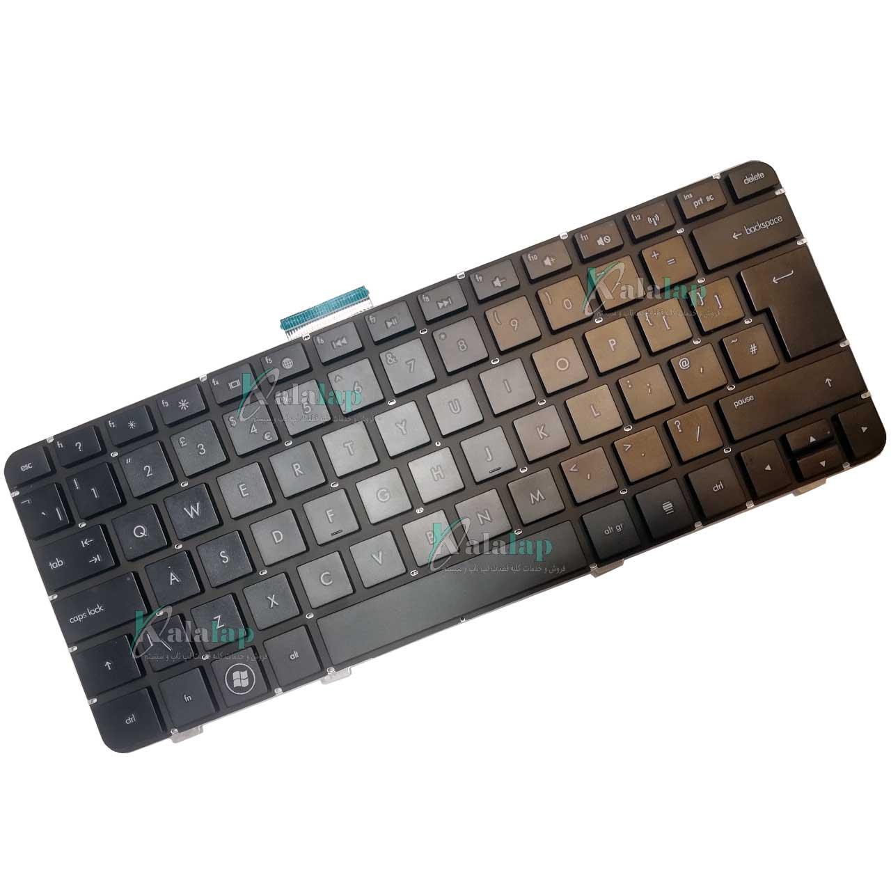 کیبرد لپ تاپ اچ پی HP DV3-4000 DV3-4100 DV3-4200 CQ32 مشکی اینتر بزرگ بدون فریم