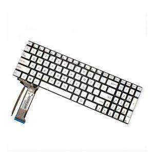 کیبورد لپ تاپ ایسوس N551 N552 0KNB0-662BUS00 Backlit Silver