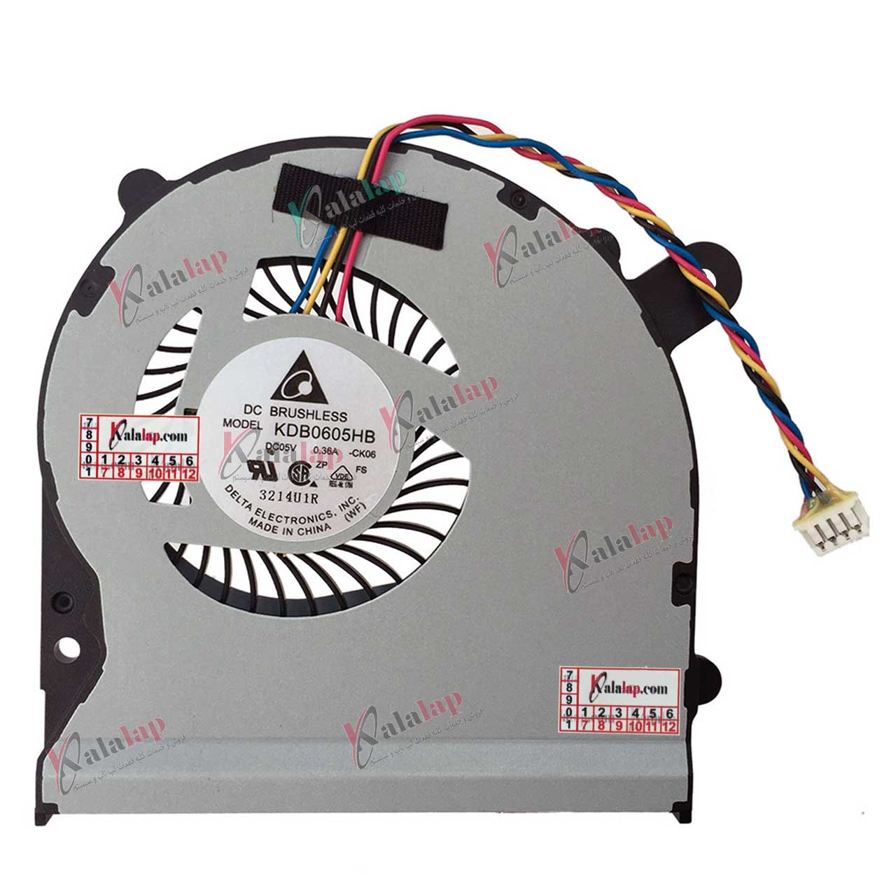 فن لپ تاپ ایسوس FAN Laptop ASUS S400 X402 X502 S500 F502